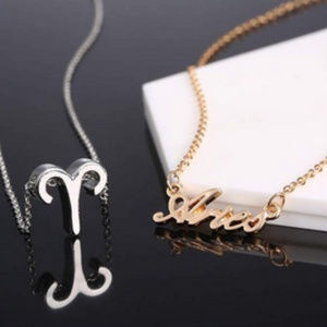 Jewelry - Aries Zodiac Constellation Necklace